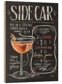 Wood  sidecar - Lily & Val