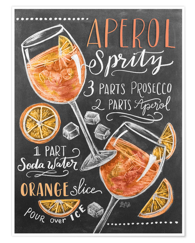 Aperol Spritz Posters And Prints Posterlounge Co Uk