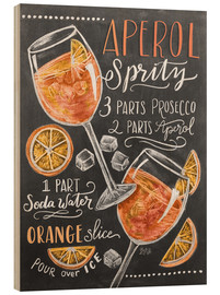 Wood  Aperol Spritz - Lily & Val