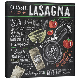 Canvas  Classic Lasagna recipe - Lily & Val