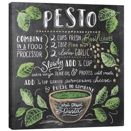 Canvas  Pesto recipe - Lily & Val