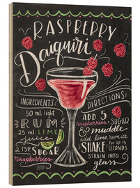 Wood  raspberry daiquiri - Lily & Val