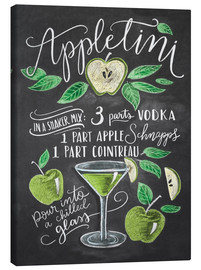 Canvas  appletini - Lily & Val