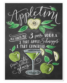Lily & Val - appletini