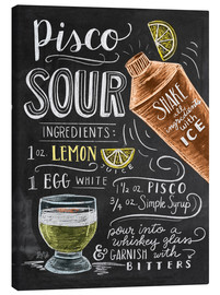 Canvas print  piscosour - Lily & Val