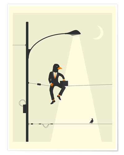 Premium poster MAN ON A WIRE