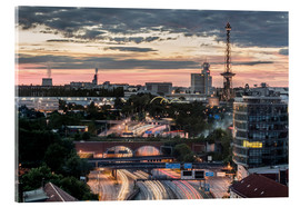 Acrylic print  Berlin Skyline City West - Sven Hilscher
