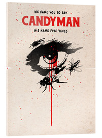 Acrylic print  Alternative candyman movie art print - 2ToastDesign