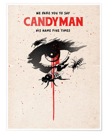 Premium poster Alternative candyman movie art print