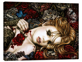 Canvas print  Ecstasy into the savage garden - Enys Guerrero