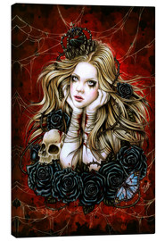 Canvas print  Mad Queen Alice - Enys Guerrero