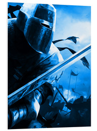 Foam board print  Knight - Durro Art