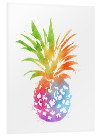 Foam board print  WC Pineapple 16x20 - Mod Pop Deco