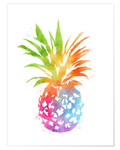 Premium poster WC Pineapple 16x20