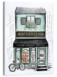 Canvas  French Shop Front - Boulangerie - Lily & Val