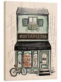 Wood  French Shop Front - Boulangerie - Lily & Val