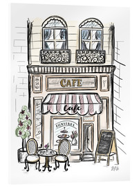 Acrylic glass  French Shop Front - Café - Lily & Val