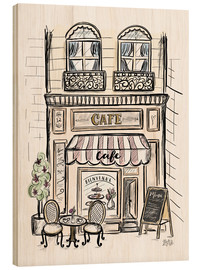 Wood  French Shop Front - Café - Lily & Val