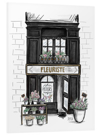 Forex  French Shop Front - Fleuriste - Lily & Val