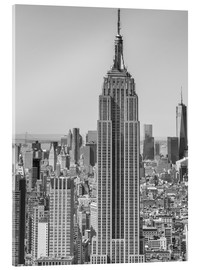 Acrylic print  New York City aerial skyline
