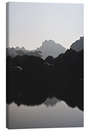 Canvas print  River in Hampi India