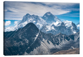 Canvas print  The Himalayas