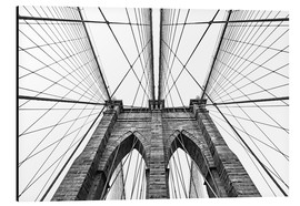 Alu-Dibond  Brooklyn bridge