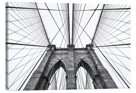 Canvas print  Brooklyn bridge