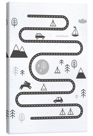 Canvas  Winding road - Kidz Collection
