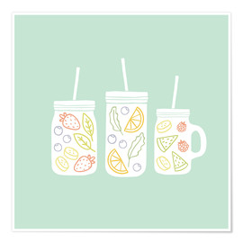 Premium poster  Fruity lemonade