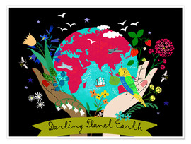Premium poster Darling Planet Earth