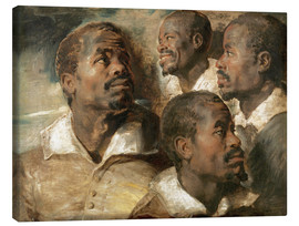 Peter Paul Rubens - Four Studies of a Head of a Man