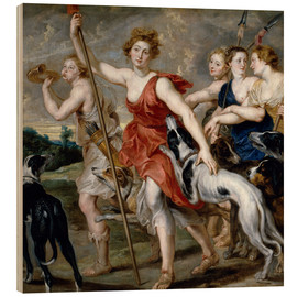 Peter Paul Rubens - Diana the Huntress