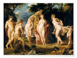 Premium poster The Judgement of Paris