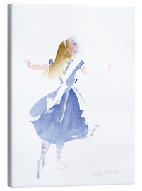 Canvas print  Alice in Profile - Lesley Fotherby