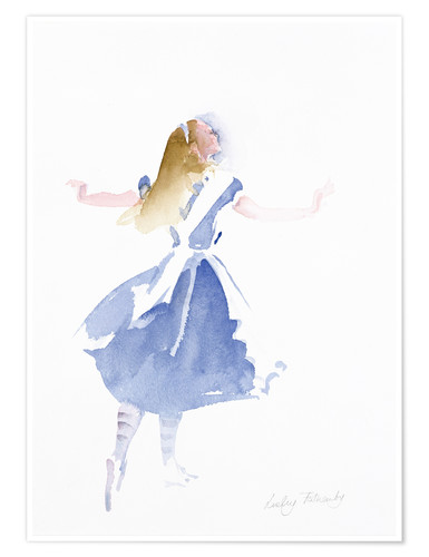 Premium poster Alice in Profile