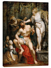 Canvas print  Hercules and Omphale - Peter Paul Rubens