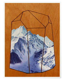Poster  Mountains - Jennifer McLennan