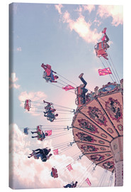 Canvas print  Swing ride - Die Farbenflüsterin
