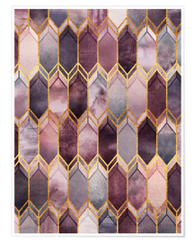 Premium poster Dreamy Stained Glass
