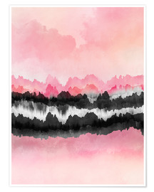 Premium poster Pink Mountains