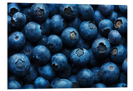 Forex  Blueberries background close-up - Johan Swanepoel