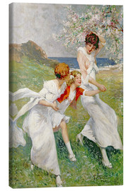 Canvas print  Joys of Spring - Rene Lelong