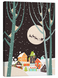 Canvas print  Christmas night - Kidz Collection