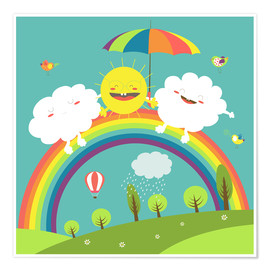 Poster  Friendly weather - Kidz Collection