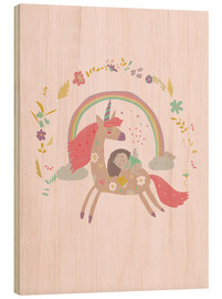 Wood  Girl from fairytale - Kidz Collection