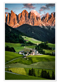 Premium poster South Tyrol, Italy, Dolomites