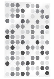 Acrylic print  GREYS WHITE - THE USUAL DESIGNERS