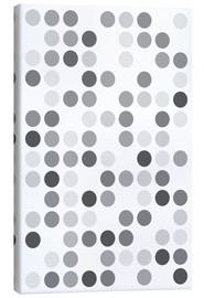 Canvas print  GREYS WHITE - THE USUAL DESIGNERS