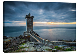 Canvas print  Brittany Lighthouse - Arnold Schaffer